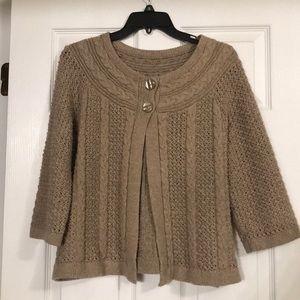Croft and Barrow sweater.